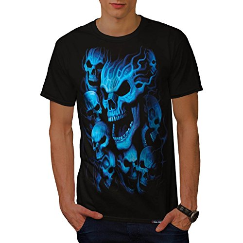 Ghost Skeleton Skull Mask T-shirt