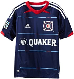 MLS Chicago Fire Youth Replica Alternate Jersey by adidas