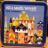 Disneyland Resort It's a Small World 4 Pc. Coaster Set - Disney Parks Exclusive & Limited Availability