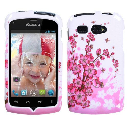 Mybat Kyoc5170Hpcim025Np Slim And Stylish Protective Case For Kyocera Hydro C5170 - 1 Pack - Retail Packaging - Spring Flowers front-830979
