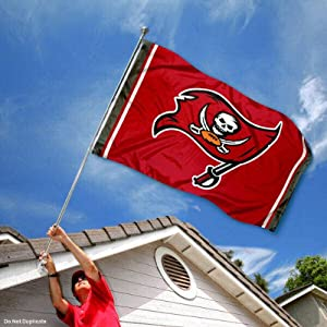 Tampa Bay Buccaneers TB Large NFL 3x5 Flag by Sports Flags and Pennants Co.