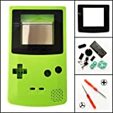 Vivi Audio For Nintendo GBC Gameboy Color Full Housing Shell Case Cover Replacement Lime Green