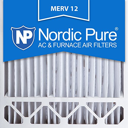 Nordic Pure 20x20x5HM12-2 MERV12 Honeywell Replacement Air Filter, Box of 2 (Honeywell Fc100a1011 compare prices)