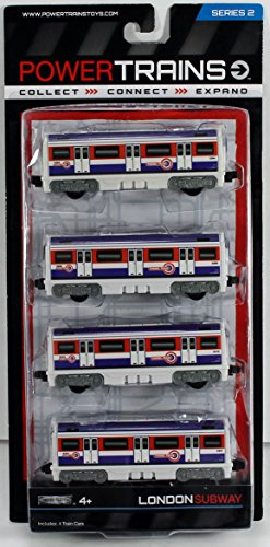 Power Train 4-Car Pack - London Tube