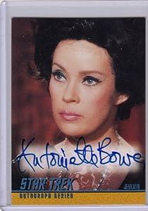 Star Trek TOS Antoinette Bower A35 Autograph Card