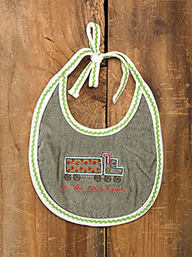 On the Road Again Baby Bib By Natural Life - 1