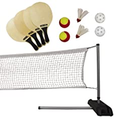 Buy Lifetime Pickleball, Badminton, & Quickstart Tennis Net Set by Lifetime