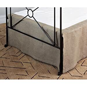 Amazon Natural Linen Daybed Skirt By Charles P