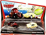 Pixar Cars 2 Finn Francesco Uncle Topolino & Mama Topolino Diecast Vehicle Two-Pack