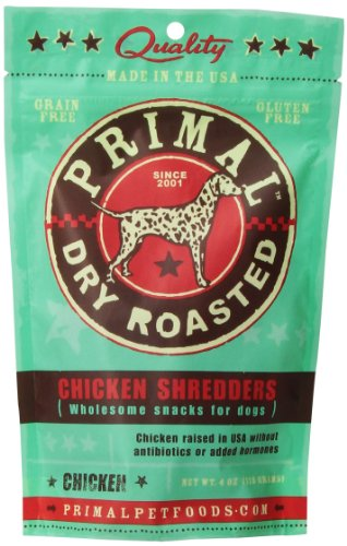 Primal Pet Foods Chicken Breast Shredders Dog Treat