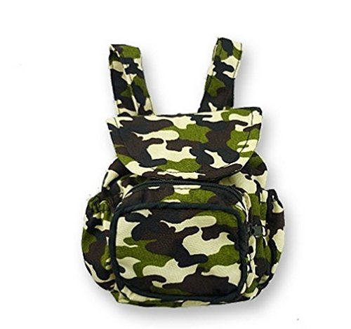 Army camo backpack Bag for teddy bear fits Build a Bear Teddies by Build your Bears Wardrobe (Build A Bear Army compare prices)