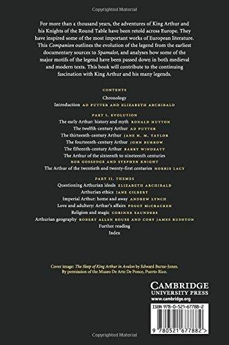 The Cambridge Companion to the Arthurian Legend Paperback (Cambridge Companions to Literature)