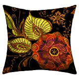 DENY Designs Gina Rivas Design Exotic Floral Outdoor Throw Pillow, 26 by 26-Inch