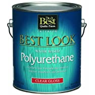 - W64V00801-16 Best Look Water-Based Polyurethane-INT W/B GLS POLYURETHANE