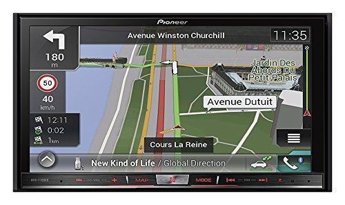 Pioneer AVIC-F70DAB Navigationssystem ( 7 Zoll Display,starrer Monitor, 16:9,Kontinent )