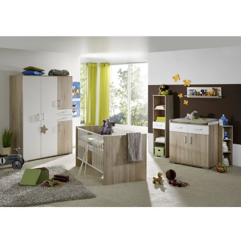 babyzimmer isabel saegerauh 8tlg. Black Bedroom Furniture Sets. Home Design Ideas