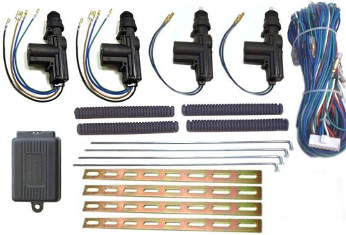 Megatronix - DAKIT4 - Four Door Central Locking Power Door Lock Kit