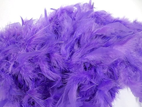 Purple Feather Boa Halloween 6 Ft Boas Costume Dress 72""