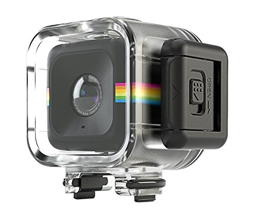 Polaroid-Waterproof-Shockproof-Case-for-the-Polaroid-CUBE-CUBE-HD-Action-Lifestyle-Camera-Connects-to-All-Mounts-in-CUBE-Series