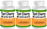 3 BOTTLES Tart Cherry Extract 900mg per serving 270 total capsules KRK SUPPLEMENTS