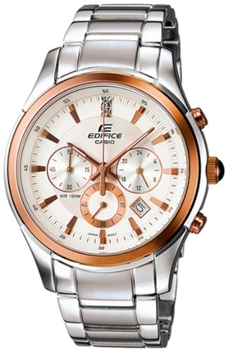 Casio Edifice Two-tone Chronograph Men's watch #EF530P-7AV Reviews
