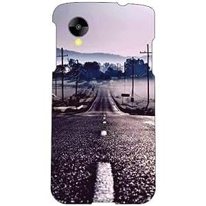 Printland Long Road Phone Cover For LG Nexus 5 LG-D821