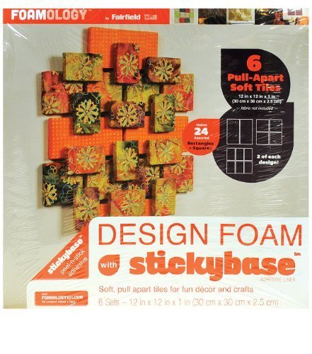 foamology-6-piece-design-foam-tile-12-by-12-by-1-inch-pull-apart-squares-and-rectangles-by-foamology