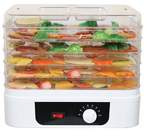 Drrer-mit-Temperatur-Regler-Drrautomat-Drrgert-Obsttrockner-Obst-und-Fleisch-Drrapparat-Umluft-Rund-oder-Eckig