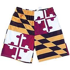 Maryland Flag Quads Lacrosse Shorts