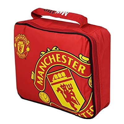 MANCHESTER UNITED F.C. LUNCH BAGS- NEW DESIGN for new season