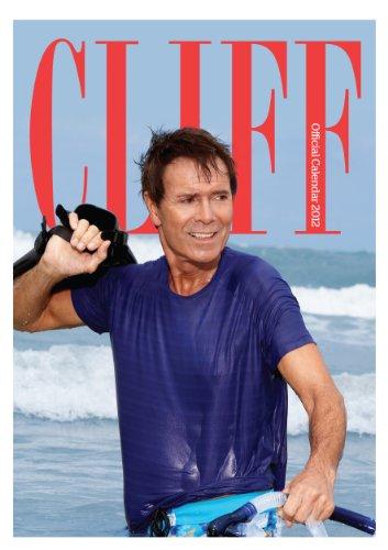 Official Cliff Richard A3 Calendar 2012
