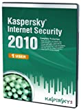 Kaspersky Internet Security 1 User, 1 Year License, 2010 (PC CD)
