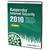 Kaspersky Internet Security 1 User, 1 Year License, 2010 (PC CD)by Kaspersky Lab