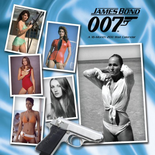 Official James Bond Girls 2011 Square Calendar