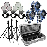 Arri 650 Tungsten 3 Light Kit with Wheeled Case