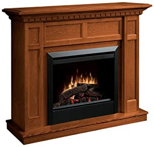 Dimplex Caprice Dfp4743o Traditional Electric Fireplace Mantle With 23 Inch Firebox