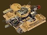 1/48 鋼密度模型 ドイツ 重戦車 タイガーI   7分割内部再現モデル サンドイエロータイプ 231号車 第501重戦車大隊第2中隊(アフリカチュニジア戦線1943) 全7種セット