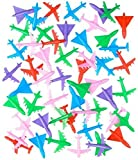 A fleet of high flying fun. This collection of 2-inch toy airplanes features a variety of colors.