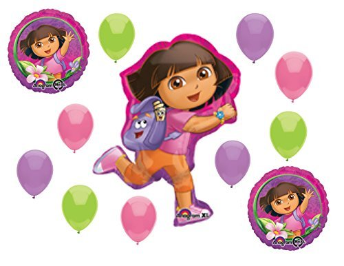 Dora the Explorer Balloon Set Birthday Party Decoration Supplies