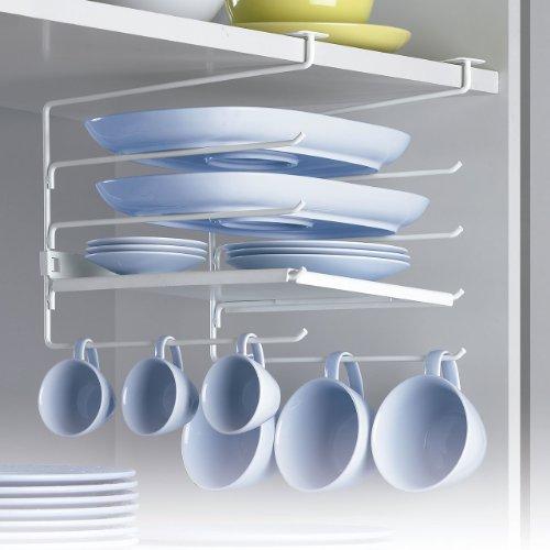 Rayen 6074 colgador con estantes para armarios de cocina - Estantes para armarios ...