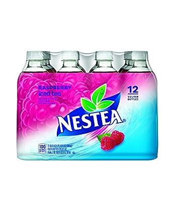 Amazon.com: Nestea Iced Tea, Raspberry, 16.9 Fluid Ounce ...