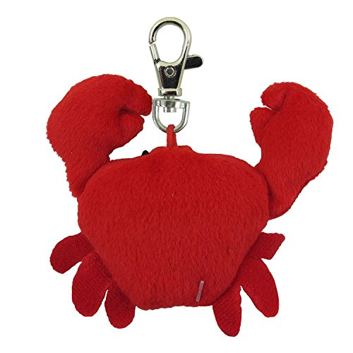 Aurora World Plush - Sea Life Clip-On - CRAB (6 inch) - 1