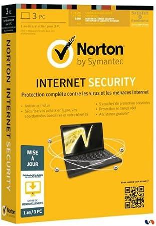 Norton internet security 2013 (3 postes, 1 an) - mis a jour