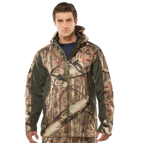 Men's Ridge Reaper® Shell Camo Hunting Jacket Tops by Under Armour
