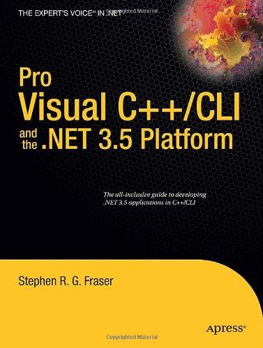 Pro Visual C++-CLI and the .NET 3.5 Platform