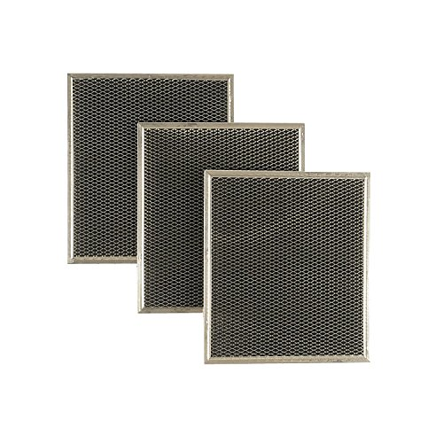 Whirlpool Kitchenaid Vent Hood Charcoal Filter 3 Pac