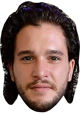 CELEBRITY FACE MASK KIT - Kit Harrington - DO IT YOURSELF (DIY) #5