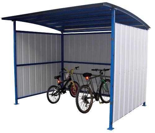 Vestil MDS-96-BK Multi Duty Bicycle Storage Shelter,