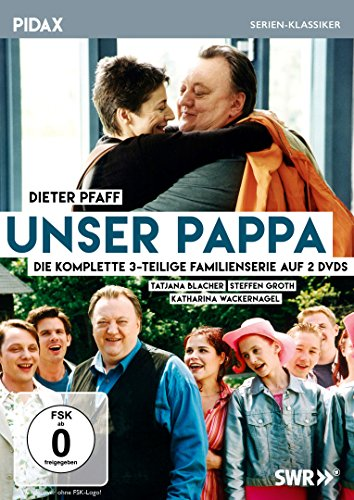 Unser Pappa / Die komplette 3-teilige Serie mit Dieter Pfaff (Pidax Serien-Klassiker) [2 DVDs]