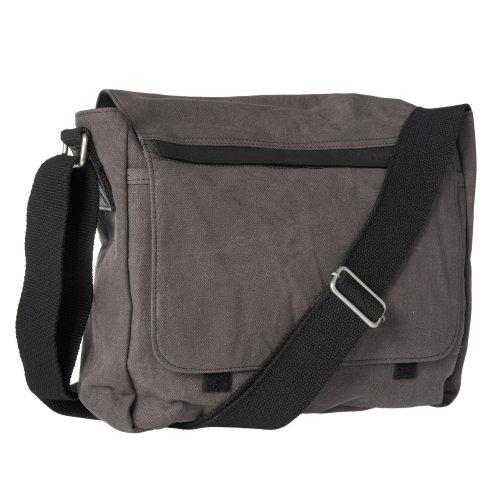 Rocha.John Rocha Mens Designer Grey Canvas Utility Bag